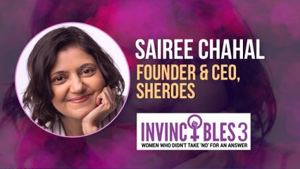 Women's Day Special: Sairee Chahal's story of building the 'internet for women'  | Invincibles