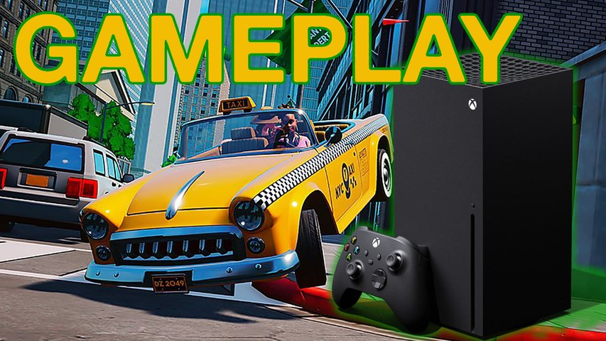 Taxi Chaos - Xbox Series X - Gameplay