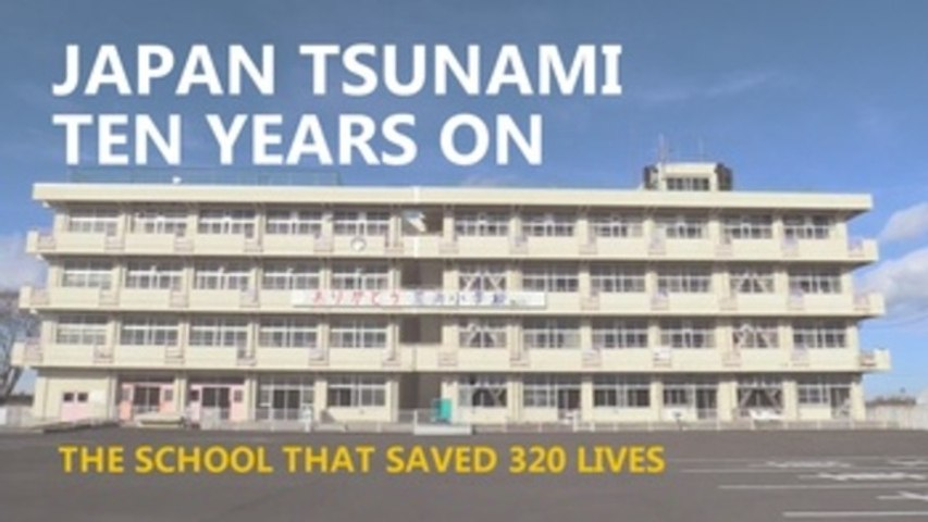 Lessons from the school that saved 320 people from the tsunami