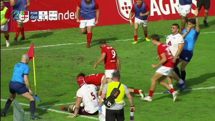HIGHLIGHTS - PORTUGAL - GEORGIA - RUGBY EUROPE CHAMPIONSHIP 2021