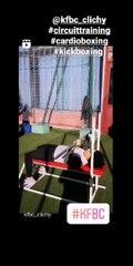 Séance cardio-training en extérieur