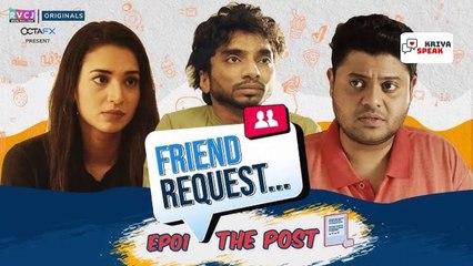 Episode 2 Friend request - A mini web series by Rvcj Let's talk web series - Kriya speak
