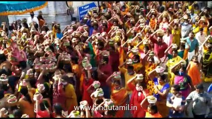 அருள்மிகு கோலவிழி அம்பிகைக்கு 1008 பால்குடங்கள் அபிஷேகம்