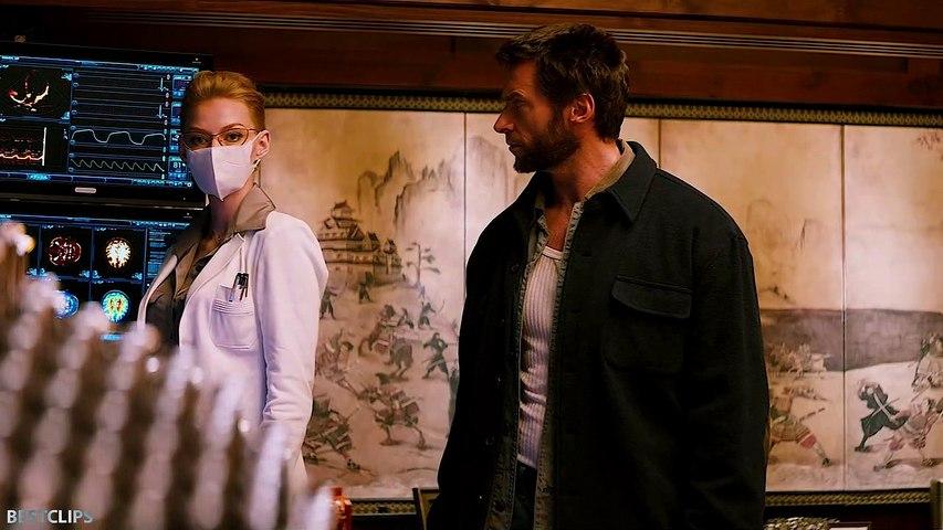 Wolverine and Yashida Meets Again Scene - The Wolverine (2013)