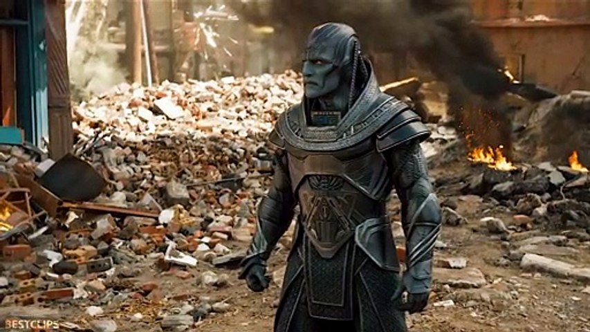 Quicksilver vs Apocalypse - Fight Scene - X-Men Apocalypse (2016)