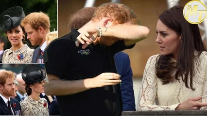 Prince Harry shed tears in rare reunion with Kate when he returned to the UK for a few minutes ago