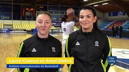 """Laure Coanus et Amel Dahra, arbitres de basketball : """"La compétence doit primer sur le genre"""""""
