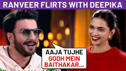 Ranveer Singh's Cheesy Comment On Deepika Padukone's Post Goes Viral!