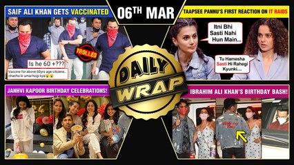 Kangana Slams Taapsee, Janhvi's Birthday Celebration, Priyanka Chopra's Unfinished | Top 10 News