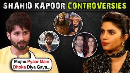 Shahid Kapoor's Affair With Priyanka,Kabir Singh Criticism, Ranveer Singh Insecure ? | All Controversies