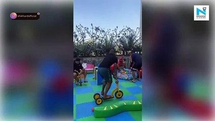 Watch, Shikhar Dhawan, Rishabh Pant, Rohit Sharma have a blast at kids zone