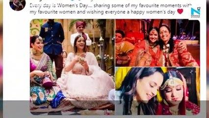 Women's Day 2021: Kangana Ranaut to Anushka Sharma, B-town's ladies laud womanhood