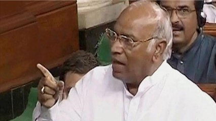 Entire country is suffering, Here's what Kharge said in RS
