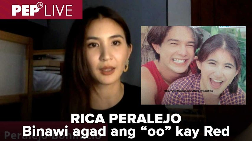 Rica Peralejo ini-reveal kung bakit isang araw lang sila naging magkasintahan ni Red Sternberg noon