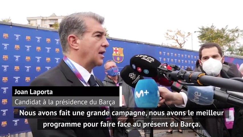 """Laporta : """"le meilleur programme pour faire face au présent du Barça"""""""