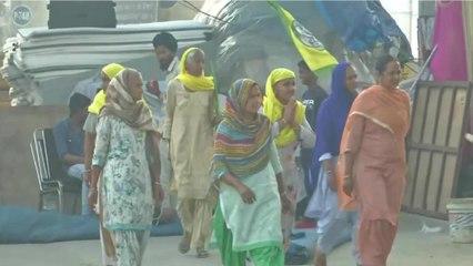 Women protesters lead agitation on International Women's Day