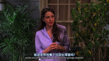 Alan, I kissed you out of fear - Two and a Half Men S01E02 [HD]