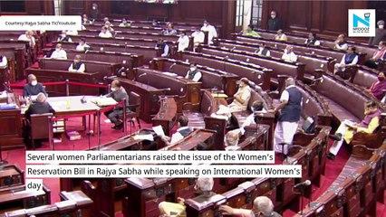International Women's Day: Women MPs seek passage of Women's Reservation Bill
