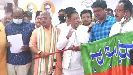 Bengal: Five TMC MLAs jump ship, join BJP