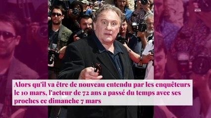 Gérard Depardieu accusé de viols : l'acteur s'affiche complice avec sa petite-fille Louise