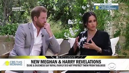 Unseen clips from Harry and Meghan's Oprah interview released