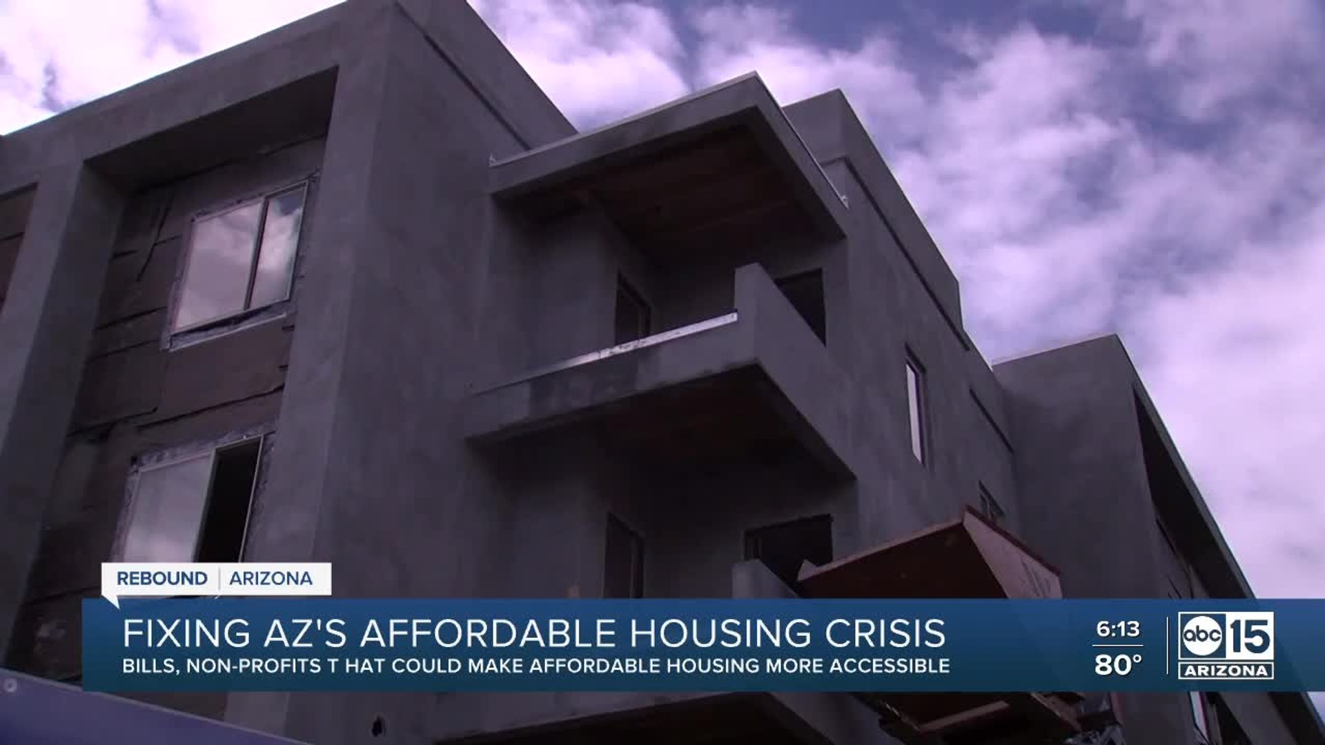 Bills and non-profits fight for affordable housing in Arizona