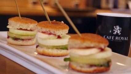 Comment bien préparer et accompagner un burger sucré avec un café royal….