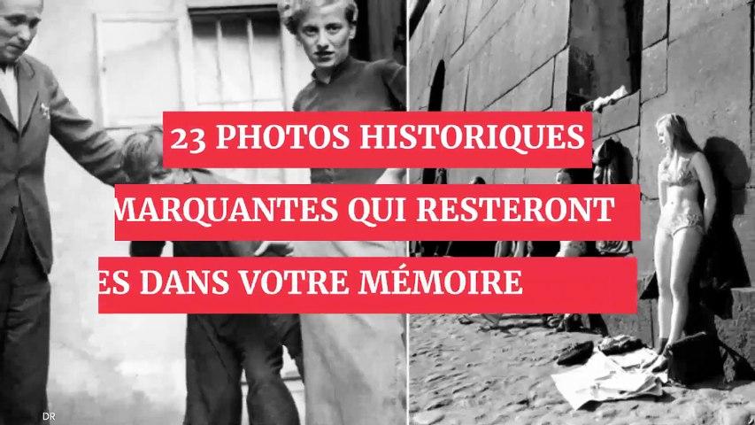 23 photos historiques marquantes qui resteront gravées dans votre mémoire