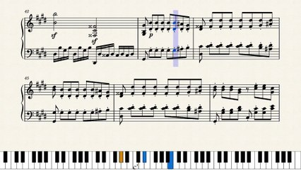 L. van Beethoven -  Klaviersonate Nr. 14 Mondscheinsonate (Piano Sonata No. 14 Moonlight) 3rd Mov.