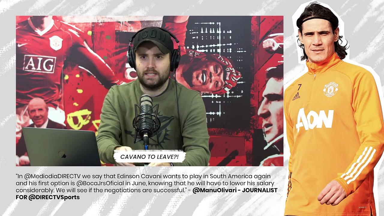 Cavani Wants South America Return _ Man Utd News