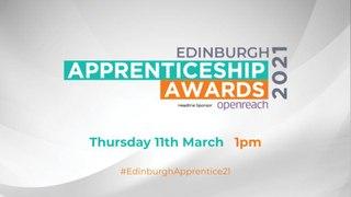 WATCH LIVE: Edinburgh Apprenticeship Awards 2021