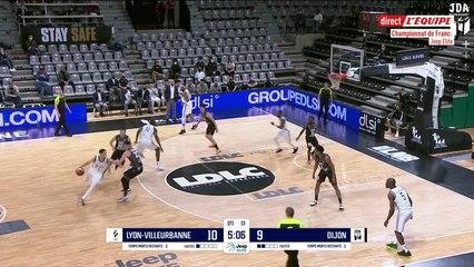 Dijon Highlights vs. Lyon-Villeurbanne
