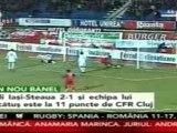 Poli Iasi-Steaua (2-1) FotbalOnline.net