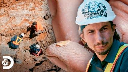 Parker encontra a primeira onça de ouro   Febre do Ouro: O Desafio de Parker   Discovery Brasil