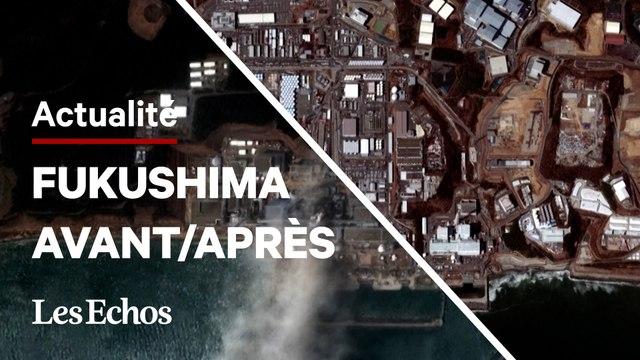 Vu du ciel, l'impact du tsunami de 2011 au Japon est toujours bien visible