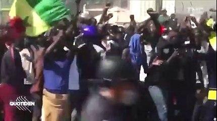 """Ousmane Sonko : ''Les manifestants n'ont pas attaqué la France"""""""