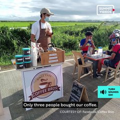 Make an early-morning pit stop at this roadside coffee stand in Pampanga