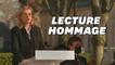 """Journée des victimes du terrorisme: l'émouvante lecture par Chloé Bertolus du """"Lambeau"""" de Philippe Lançon"""