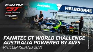 LIVE - PHILLIP ISLAND AUSTRALIA - FANATEC GT WORLD CHALLENGE AUSTRALIA 2021