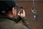Bansky revendique un graffiti effectué dans l'ancienne prison d'Oscar Wilde