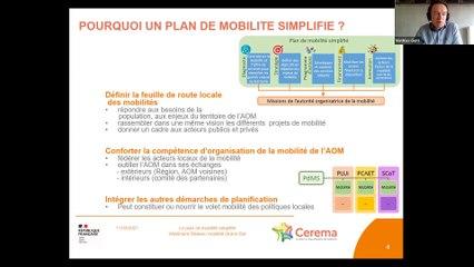 Replay Webinaire – Le Plan de Mobilité Simplifié : présentation et témoignage d'un territoire – le 11 mars 2021