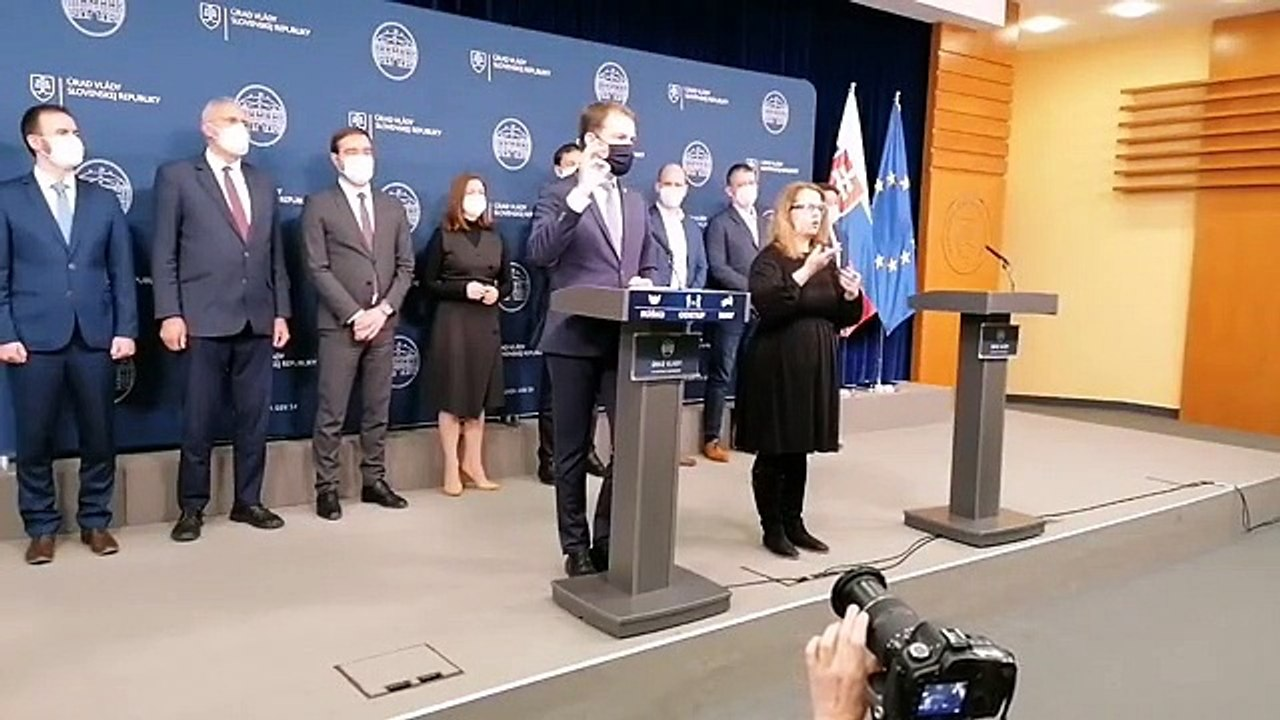 ZÁZNAM: Vyhlásenie predsedu Vlády SR I. Matoviča
