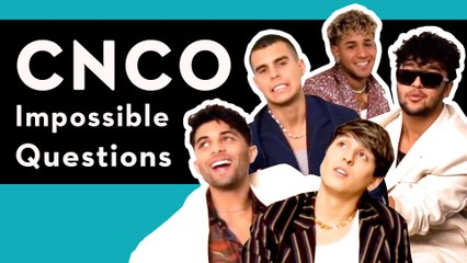 Latin Pop Stars CNCO Answer Our Impossible Questions