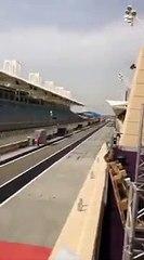 Leclerc e il filming day della Ferrari SF21 in Bahrain