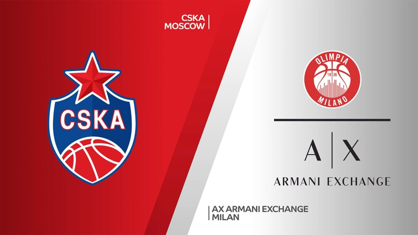 CSKA Moscow - AX Armani Exchange Milan Highlights | Turkish Airlines EuroLeague, RS Round 29