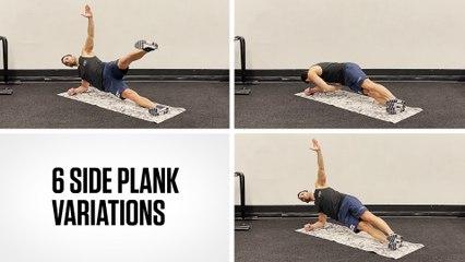 6 Side Plank Variations