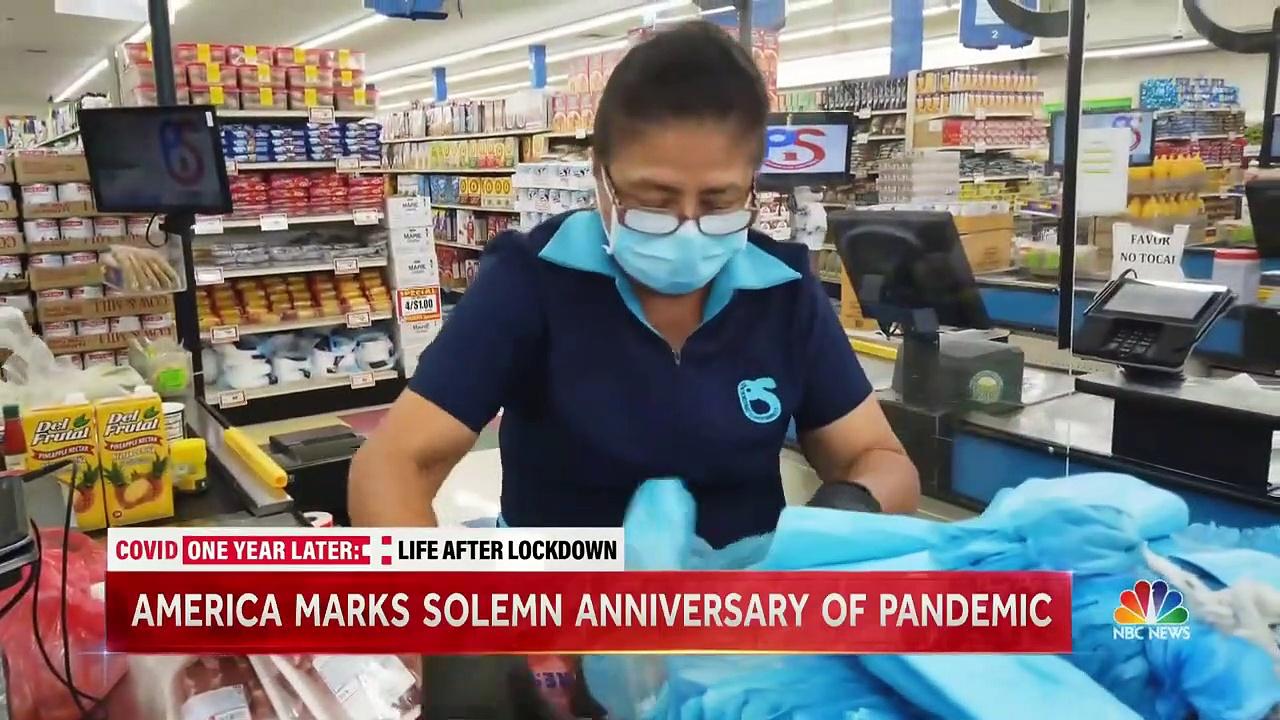 Coronavirus Pandemic One Year Later