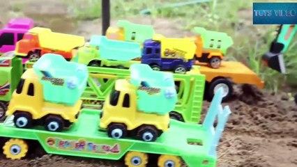 Construction Vehicles for Kids - Excavator ,Bulldozer, Bulldozer and Truck