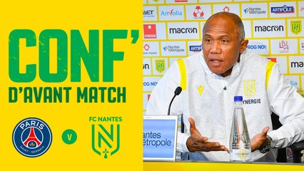 Antoine Kombouaré avant Paris SG - FC Nantes
