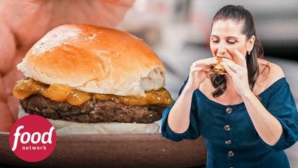 Hambúrgueres vegetarianos de berinjela | Tudo na Panela | Food Network Brasil